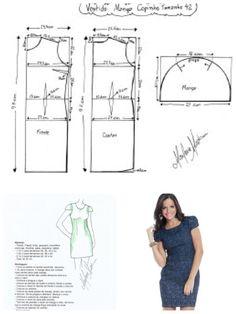 Cap sleeve pattern.