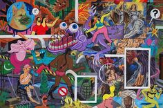 Illustration: Brecht Vandenbroucke came to say hello, and has incredible new work!