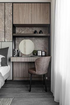 Victorian Home Interior black angel Deco Design / Guan Pin on Behance Small Space Interior Design, Modern Bedroom Design, Home Office Design, Home Interior Design, Study Table Designs, Study Room Design, Home Bedroom, Bedroom Decor, Bedrooms