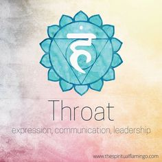 The 5th or throat chakra (Vishuddha) is the first of the higher chakras, all related with mental and spiritual matters. This energy centre is associated with communication (speaking and listening), leadership and expressing our true selves. The heart is where we find our centre, but the throat chakra it's where this truth is expressed in the external world. It is also the energy centre associated with clairaudience and as such a portal to receiving information from the higher realms…