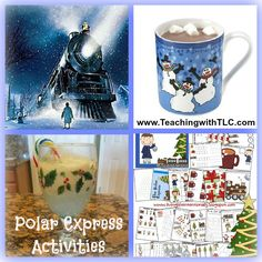 I always try to incorporate Polar Express in my Science activities during Christmas. Love Polar Express--so magical...