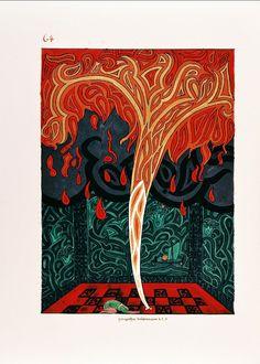 Image de la page 64 du Livre Rouge de Carl Gustav Jung (Liber Novus)