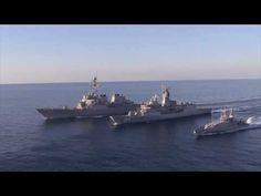 NATO ..American & Australian Warships.