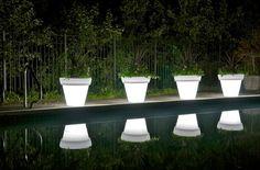 LED Plant Pots bv. van Moree - designjunky.nl