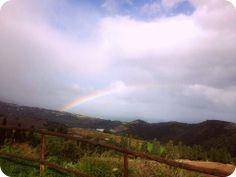 Somewhere over the rainbow... #VillaRica, #Sicily