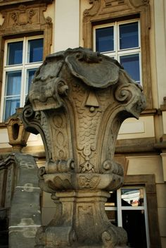 Balustrada budynku starego ratusza fot. Monika Kasprowiak