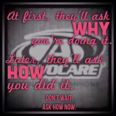Advocare! Ask me if you have questions! Check out how to become a healthier you! Megan Free Independent Distributor https://www.advocare.com/130857008