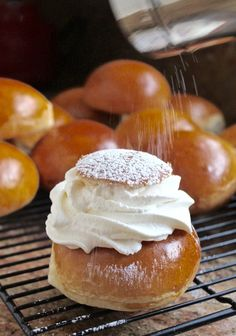 Swedish Semlor (or a Semla), are a super popular Fat Tuesday treat in this Scandinavian country. If you haven't tried them, you're truly missing out. via @christinascucina
