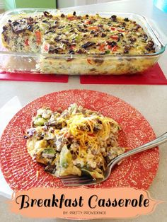 The world's best breakfast casserole! .. okay she wasn't lying! This stuff is seriously amazing!