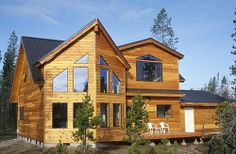 The Shed Style is a modern housing type known for large windows and unusual shapes.