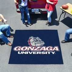 Support your team with this new Gonzaga Universit.... These will not last long! http://www.xtremesports.com/products/gonzaga-university-tailgater-rug?utm_campaign=social_autopilot&utm_source=pin&utm_medium=pin