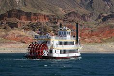 Hoover Dam and Lake Mead Cruise Tour on the Desert Princess - Las Vegas Las Vegas Tours, Las Vegas Trip, Arizona Day Trips, Lake Mead, Hoover Dam, Princess Cruises, Boat Tours, Weekend Getaways, City