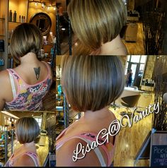 Graduated Bob, Four Square, Salons, Tips, Hair, Lounges, Strengthen Hair, Counseling