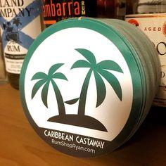 New RSR Caribbean Castaway logo stickers are in! Head to the shop on RumShopRyan.com if you want one. Cheers! #justgo #caribbean #castaway #saltysoul #pirate #saltlife #palmtrees #islandlife #beachbum #islands
