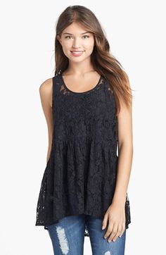Babydoll tank - cute and love the lace