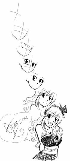 Fairy Tail Juvia, Fairy Tail Girls, Fairy Tail Ships, Drawing Tips, Drawing Sketches, Drawing Designs, Manga Poses, Drawing Heads, 3d Drawings