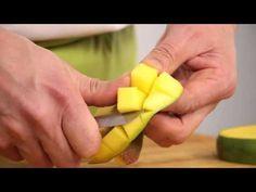 Mango schillen en snijden - Snijtechnieken | PLUS