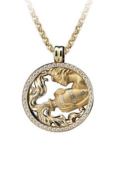 Magerit - Zodiac Collection: Necklace Big Acuario