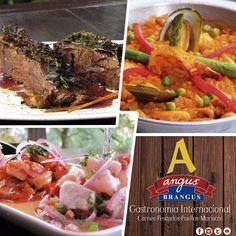 Incluímos nuevas propuestas gastronómicas en nuestro menú, para que tengas muchas opciones y antojos de la gastronomía internacional. Reservas: 2321632 - 310 7006602. Cra. 42 # 34 - 15 / Vía las Palmas. www.angusbrangus.com.co #RestaurantesMedellín #AngusBrangus #Parrilla #Bar #Dondecomer #recomendadosmedellín #Medellíncity #MedellínTown #laspalmas #gastronomía #tardedeamigos #Amigos #ElPoblado