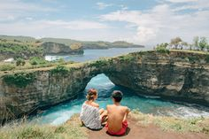 Just an hour away by boat from Bali, you will find Nusa Penida Island. The reason we chose to go on this adventure was to find more secluded but beautiful destinations near Bali to escape the crowd. Bali is definitely a go-to destination when visiting Indonesia so this is perfect if you're