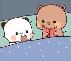 Funny Cartoon Gifs, Cute Cartoon Pictures, Cute Love Pictures, Cute Profile Pictures, Cute Cartoon Wallpapers, Cute Bunny Cartoon, Cute Kawaii Animals, Cute Love Cartoons, Chibi Cat