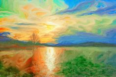 Winterimpressionen 3 3, Painting, Painting Art, Paintings, Painted Canvas, Drawings