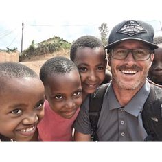 Pastor Phil Shinners from Saddleback San Clemente on a PEACE trip to Rwanda last month. #LoveRwanda