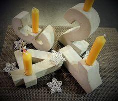 X-Casting Mould Advent figures 15 x 4 cm Concrete Casting, Concrete Molds, Brass Color, Reindeer, Etsy, It Cast, Candles, Shapes, Handmade