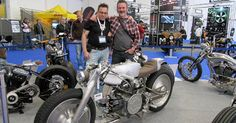 Don Cronin and his Perfect Moto Guzzi. #caferacer #AMDworldchampionship #caferacer http://caferacer-manufacture.com/pl/galerie/
