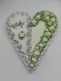 Heart Cookies, Frame, Home Decor, Homemade Home Decor, Interior Design, Frames, Home Interiors, Decoration Home, Home Decoration