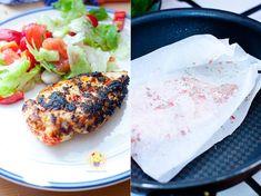 Kurczak w papirusie Salmon Burgers, Ethnic Recipes, Food, Essen, Meals, Yemek, Eten
