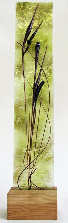 Jennifer Anne Kelly Warm Art Glass | organic glass fused on powdered glass