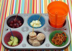 muffin tin lunch!
