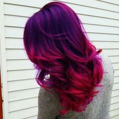 Lila rosane Haare nichts für mich aber schön #hairstyle …