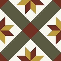 ODYSSEAS 421 Handmade Tiles, Cement, Abstract, Artwork, Work Of Art