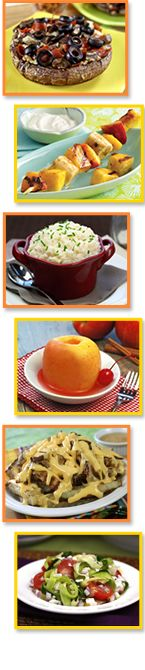 PIN THIS – Creative fruit and veggie dishes and single-serve snack ideas from Hungry Girl!