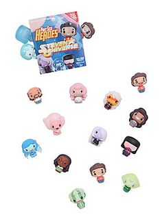 """Created with Funko's signature flair for designing charming stylized vinyl, they've taken your favorite parts of Pop! and Dorbz and made them into an even smaller package - and all at a new low price!<br><br>This series focuses on your favorite character's from <i>Steven Universe</i>. Which one will you get? It's a surprise!<br><br>Sorry, no choice or returns.<br><ul><li style=""""list-style-position: inside !important; list-style-type: disc !important"""">1 1/2"""" tall</li><li style=""""li..."""