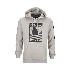adidas Originals Street Graphic Pull Over Hoodie Men's (189.205 COP) ❤ liked on Polyvore featuring mens, men's clothing and men's hoodies