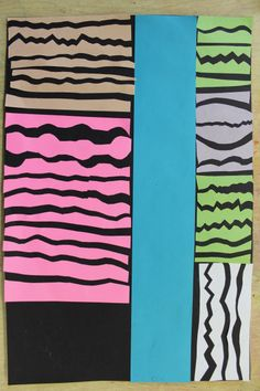 Line/Shape Collage by Ellie