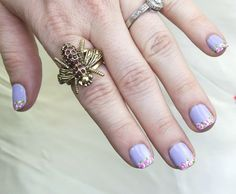 DIY rose french tip manicure #xoVain