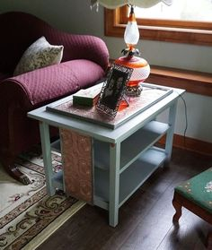 end table redone