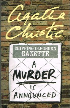 A Murder is Announced (1950) by Agatha Christie. I remembered whodunit about a third of the way in, but still enjoyed the people and glimpses of life after WWII. Finished 28th July 2015, borrowed from R, second read I think.