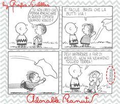 Peanuts nr 5 - siamo tutti un pò Linus... ....capita...capita spesso e sovente di sentirci così pronti e così forti da compiere l'eroico gesto di rinunciare alla nostra copertina...per cadere nel panico solo un nanosecondo dopo.... siamo tutti un pò Linus... Al seguente link l'immagine prelvabile: http://graficscribbles.blogspot.it/2014/08/peanuts-linus--schultz-copertina.html