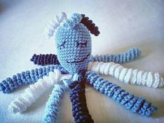 Chobotnička pro předčasňátka / Crochet Octo for Preemies