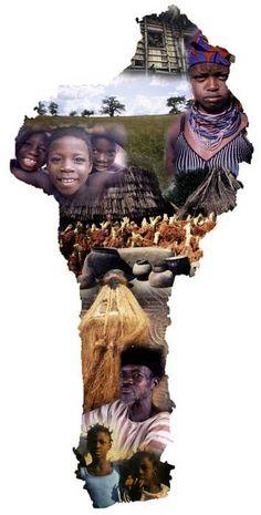 Benin (capital Porto Novo) in West Africa.