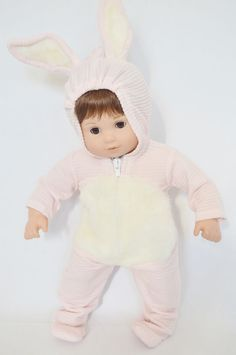 ecru pants aqua sweatshirt applique trim fits American Girl doll handmade New