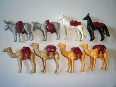 Kinder Surprise Set  Mounts & Pack Animals by KinderSurpriseToys