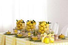 Image Result For Lemon Table Decorations. Tisch  BabypartyBabypartysBabypartydekorationBabyparty  ThemenDuschideenTischdekorationSchüssel ...