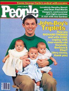 Richard Thomas Triplets no fertility natural