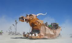"Burning Man Festival. (Tanais Fox/<a href=""http://creativecommons.org/licenses/by-sa/2.0/"" target=""_blank"" rel=""nofollow"" >cc</a>)"